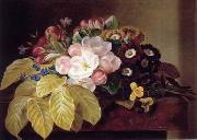 unknow artist Floral, beautiful classical still life of flowers.037 china oil painting reproduction