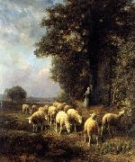unknow artist Sheep 144 china oil painting reproduction