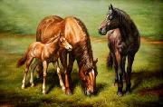 unknow artist Horses 038 china oil painting reproduction