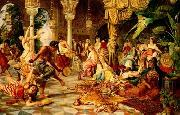 unknow artist Arab or Arabic people and life. Orientalism oil paintings  509 oil painting picture wholesale