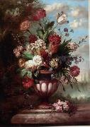 unknow artist Floral, beautiful classical still life of flowers.069 china oil painting reproduction
