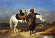 unknow artist Arab or Arabic people and life. Orientalism oil paintings 585 oil painting picture wholesale