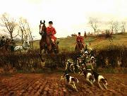 unknow artist Classical hunting fox, Equestrian and Beautiful Horses, 06. china oil painting reproduction