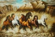 unknow artist Horses 039 china oil painting reproduction