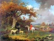 unknow artist Classical hunting fox, Equestrian and Beautiful Horses, 071. china oil painting reproduction