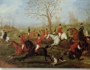 unknow artist Classical hunting fox, Equestrian and Beautiful Horses, 074. china oil painting reproduction