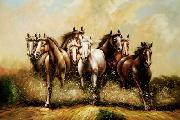 unknow artist Horses 040 china oil painting reproduction