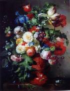 unknow artist Floral, beautiful classical still life of flowers.052 china oil painting reproduction