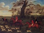 unknow artist Classical hunting fox, Equestrian and Beautiful Horses, 136. china oil painting reproduction