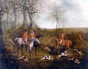 unknow artist Classical hunting fox, Equestrian and Beautiful Horses, 033. china oil painting reproduction