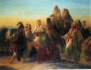 unknow artist Arab or Arabic people and life. Orientalism oil paintings  443 oil painting picture wholesale