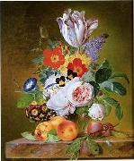 unknow artist Floral, beautiful classical still life of flowers.041 china oil painting reproduction