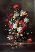 unknow artist Floral, beautiful classical still life of flowers.063 china oil painting reproduction
