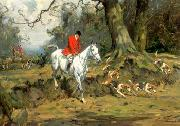 unknow artist Classical hunting fox, Equestrian and Beautiful Horses, 228. china oil painting reproduction