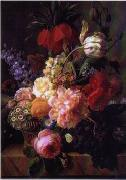 unknow artist Floral, beautiful classical still life of flowers.064 china oil painting reproduction