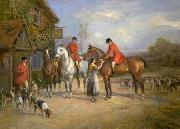unknow artist Classical hunting fox, Equestrian and Beautiful Horses, 175. china oil painting reproduction