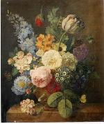 unknow artist Floral, beautiful classical still life of flowers.040 china oil painting reproduction