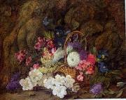 unknow artist Floral, beautiful classical still life of flowers.076 china oil painting reproduction