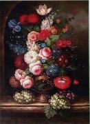 unknow artist Floral, beautiful classical still life of flowers.059 china oil painting reproduction