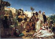 unknow artist Arab or Arabic people and life. Orientalism oil paintings 601 china oil painting reproduction