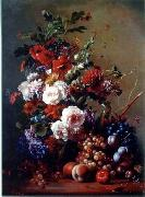 unknow artist Floral, beautiful classical still life of flowers.068 china oil painting reproduction