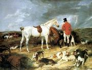 unknow artist Classical hunting fox, Equestrian and Beautiful Horses, 032. china oil painting reproduction