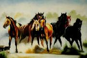 unknow artist Horses 045 china oil painting reproduction