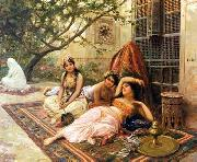 unknow artist Arab or Arabic people and life. Orientalism oil paintings  505 oil painting picture wholesale