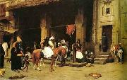 unknow artist Arab or Arabic people and life. Orientalism oil paintings  455 oil painting picture wholesale