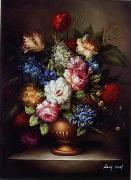 unknow artist Floral, beautiful classical still life of flowers.060 china oil painting reproduction
