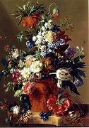 unknow artist Floral, beautiful classical still life of flowers.054 china oil painting reproduction