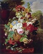unknow artist Floral, beautiful classical still life of flowers.042 china oil painting reproduction
