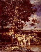 unknow artist Sheep 089 china oil painting reproduction