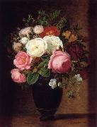 unknow artist Floral, beautiful classical still life of flowers.039 china oil painting reproduction