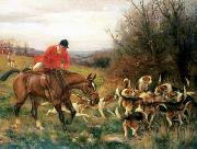 unknow artist Classical hunting fox, Equestrian and Beautiful Horses, 199. china oil painting reproduction