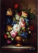 unknow artist Floral, beautiful classical still life of flowers.051 china oil painting reproduction