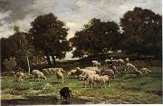 unknow artist Sheep 156 china oil painting reproduction