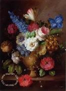 unknow artist Floral, beautiful classical still life of flowers.072 china oil painting reproduction