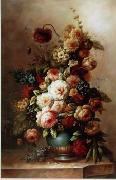 unknow artist Floral, beautiful classical still life of flowers.047 china oil painting reproduction
