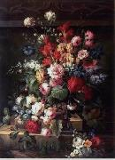 unknow artist Floral, beautiful classical still life of flowers.065 china oil painting reproduction