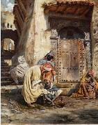 unknow artist Arab or Arabic people and life. Orientalism oil paintings 444 oil painting picture wholesale