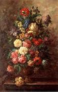 unknow artist Floral, beautiful classical still life of flowers.061 china oil painting reproduction
