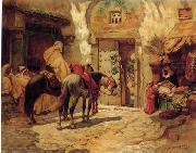 unknow artist Arab or Arabic people and life. Orientalism oil paintings  438 oil painting picture wholesale