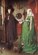 EYCK, Jan van The marriage of arnolfini china oil painting reproduction