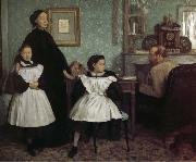Edgar Degas Belini Family china oil painting reproduction