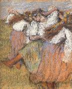 Edgar Degas Russian Dancers china oil painting reproduction