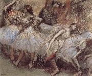 Edgar Degas Dance have a break china oil painting reproduction