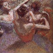 Edgar Degas Dancer triming dress china oil painting reproduction