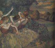 Edgar Degas Four dance china oil painting reproduction