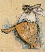 Edgar Degas Russian Dancer china oil painting reproduction
